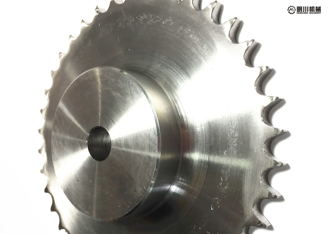 Professional 304 Stainless Steel Sprockets , DIN/ANSI Stainless Steel Roller Chain Sprockets